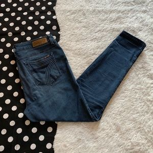 Seven7 jeans high rise skinny pants size 12